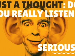 Just a thought Listen YouTube Thumbnail