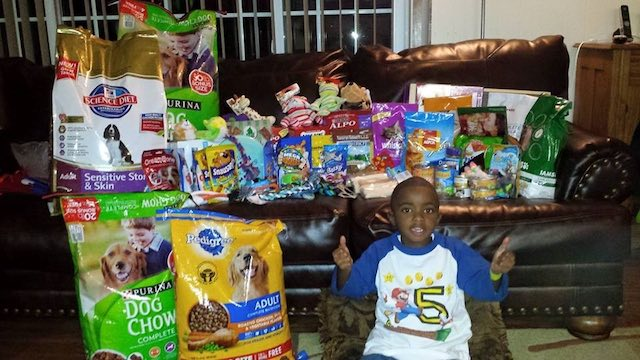 Big-hearted Little Boy Gives Up Birthday Gifts To Help