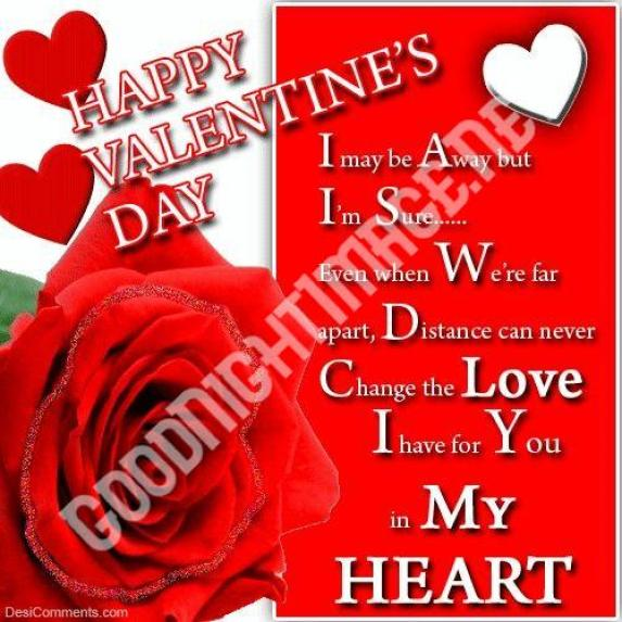 Romantic Valentine Day Quotes & Images For Lovers