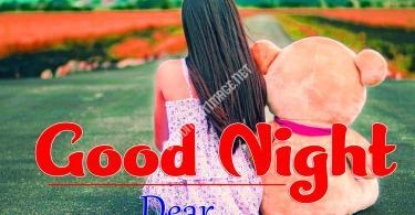 Cute Girls Good Night Whatsapp DP Profile Images Pics Download