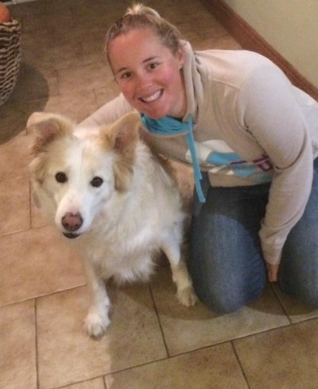 Goodog trainer Jessie with Ollie