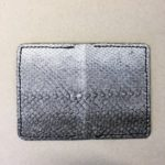 Salmon fishleather wallet