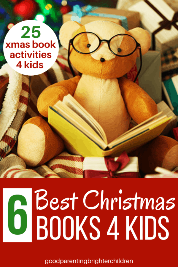 What makes Christmas a time of electrifying anticipation? Christmas books! Filled with laughter, holiday-magic & meaningful lessons, Christmas books bring the Spirit of the season into your children's lives. Check out 6 classic Christmas books for kids & teens. Bonus: 25 activities to spice up your holiday reading! #christmasbooks, #christmasbooksforkids, #christmasbooksforteens,