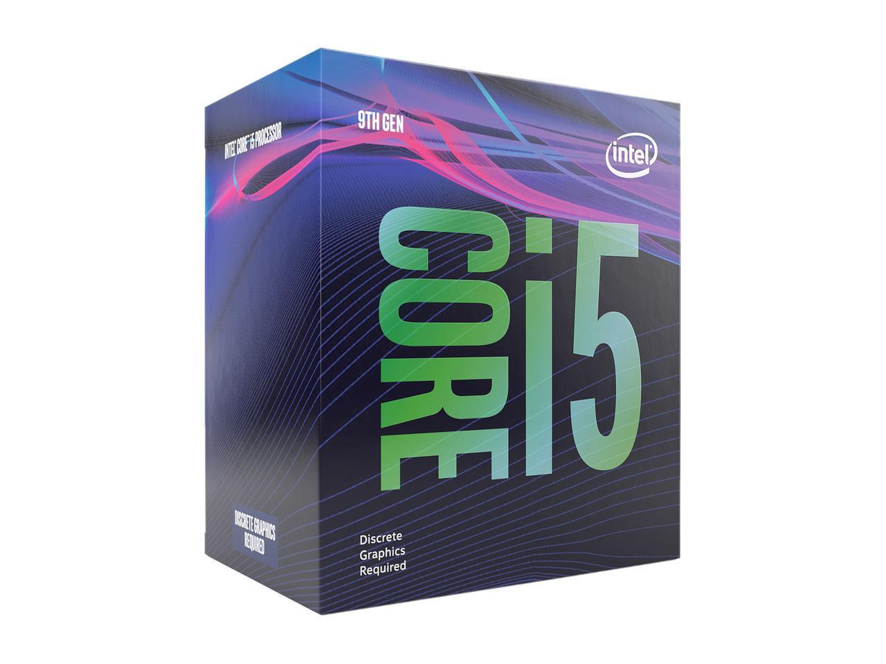 Intel Core i5-9400 Desktop Processor 6 Cores up to 4.1 GHz Turbo LGA1151 300 Ser