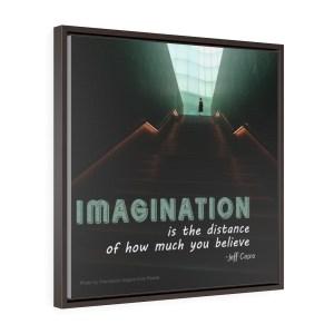 Imagination Square Framed