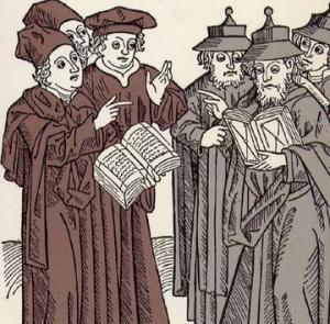 clergy-arguing