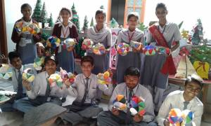 christmas crafts at school in pakistan 2015