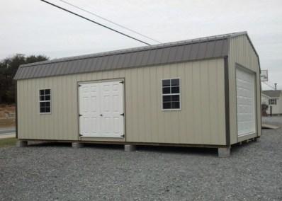 14x28 Metal High Barn Garage SPEC