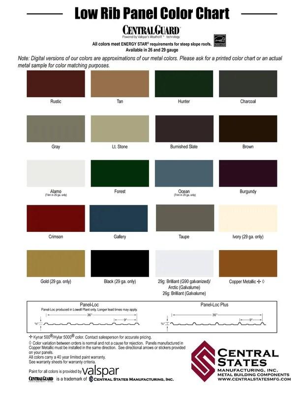 CS metal colors