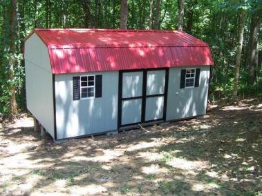 12 x 20 Painted High Barn Metal Spec