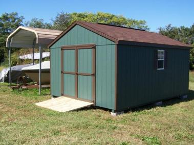 12 x 16 Painted A-roof SPEC 2
