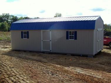 12x28 Painted High Barn Metal SPEC