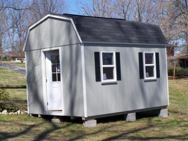 10x14 Painted High Barn