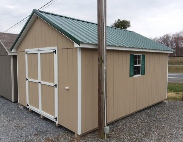 12x16 Painted Classic Shed