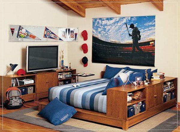 20 Bedroom Designs for Teenage Boys   Home Design, Garden ... on Bedroom Designs For Teenage Guys  id=89263