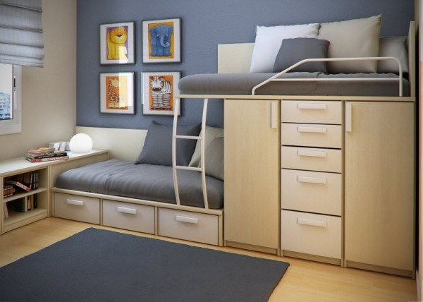 Space-Saving Ideas for Small Bedroom | Home Design, Garden ... on Bedroom Ideas For Small Spaces  id=58322