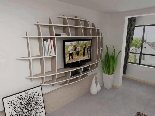Modern Shelf Design Idea | Home Design, Garden ... on Shelf Sconces For Living Rooms Contemporary id=79094