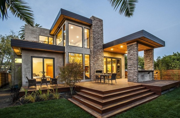 Stunning House With Modern Design In Burlingame, CA