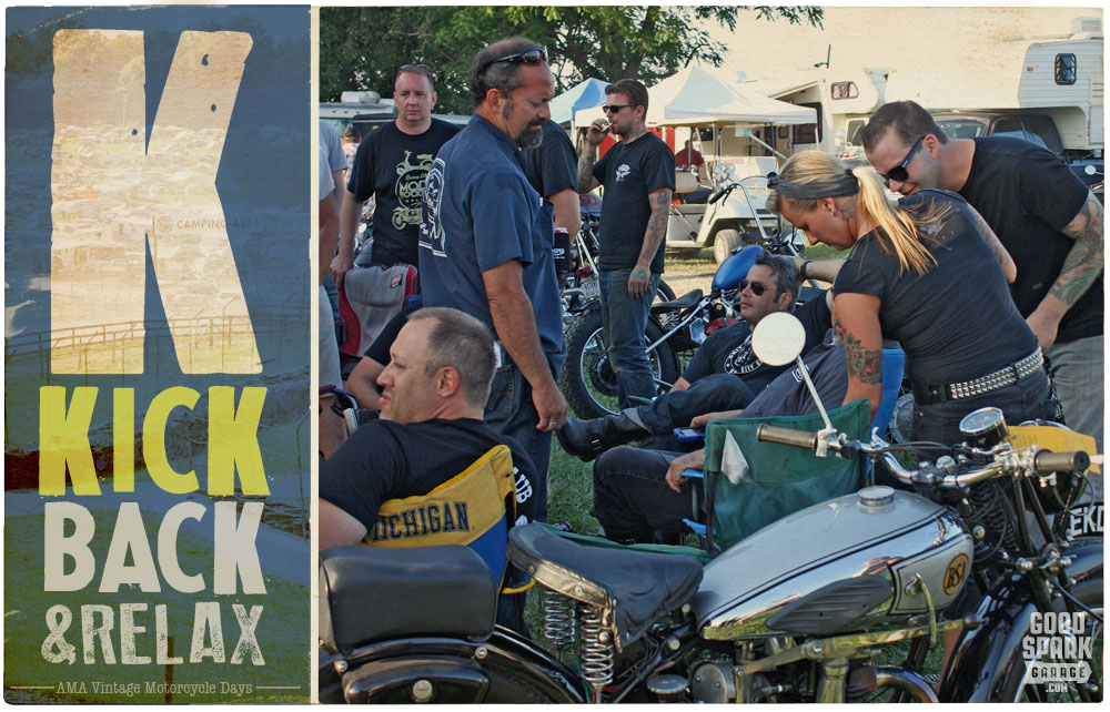 AMA Vintage Motorcycle Days K