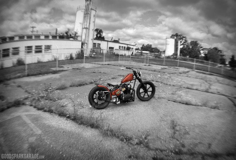 Bad Penny: XS650 Bobber by Ardcore Choppers