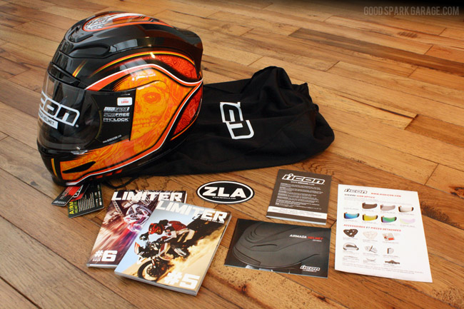 ICON Airmada Medicine Man Helmet from Revzilla