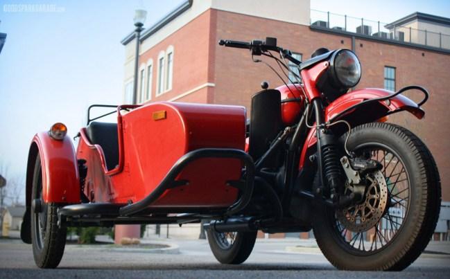 Wilkinson Brothers: Ural Sidecar