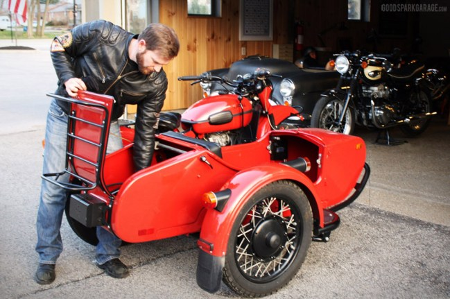 Corey Wilkinson : Ural Sidecar