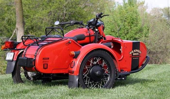 Wilkinson Bros Ural Motorcycle Sidecar