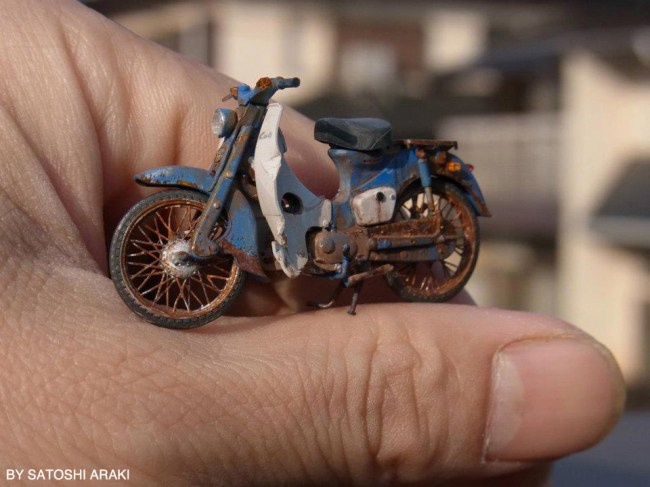Honda Cub 1/35 Scale
