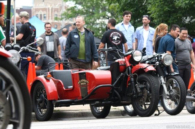 Wilkinson Brothers Ural Motorcycle Sidecar