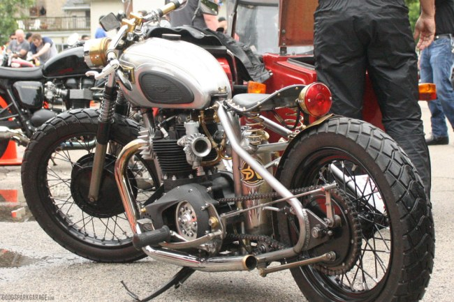Triumph Bobber at MvR 2013