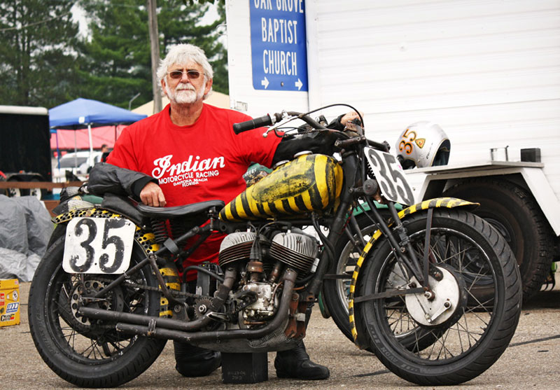 Doc's Indian Scout Racer