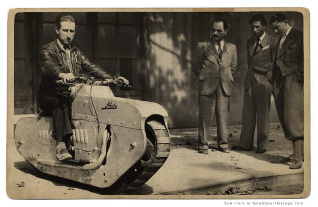 The LeHaitre Tractor Cycle from the late 1930s.