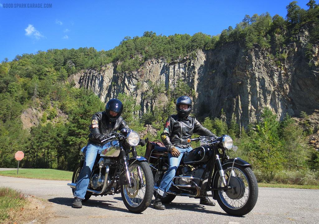 Chris Sickels and Corey Wilkinson Near Fontana Dam