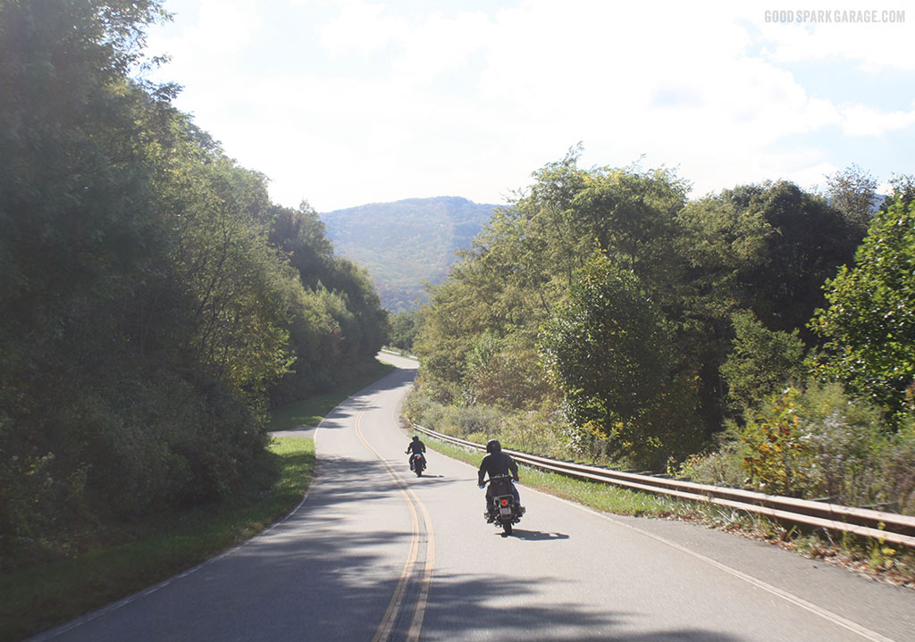 Good Spark Garage: Motorcycling on Cherohala Skyway