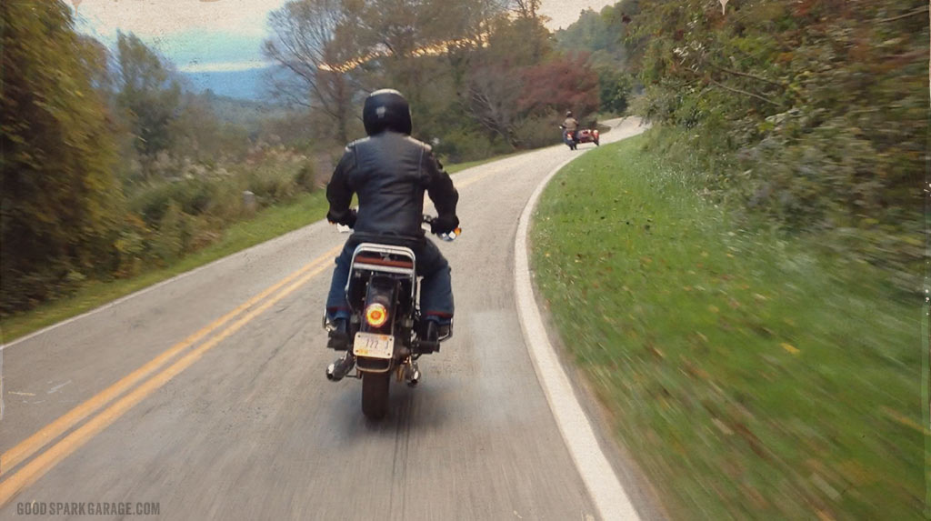 Good Spark Garage: Motorcycling on Yellow Creek Road