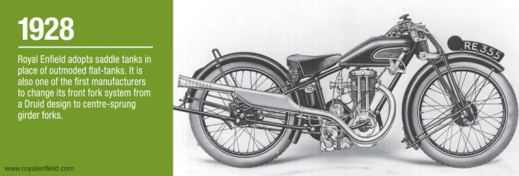 Royal Enfield History - 1928