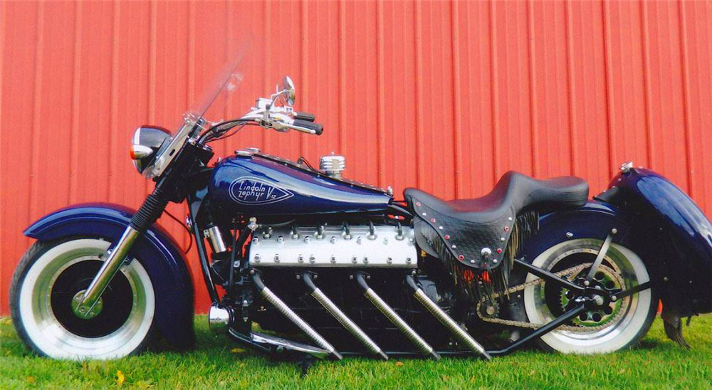 Motorcycles With Car Engines Good Spark Garage