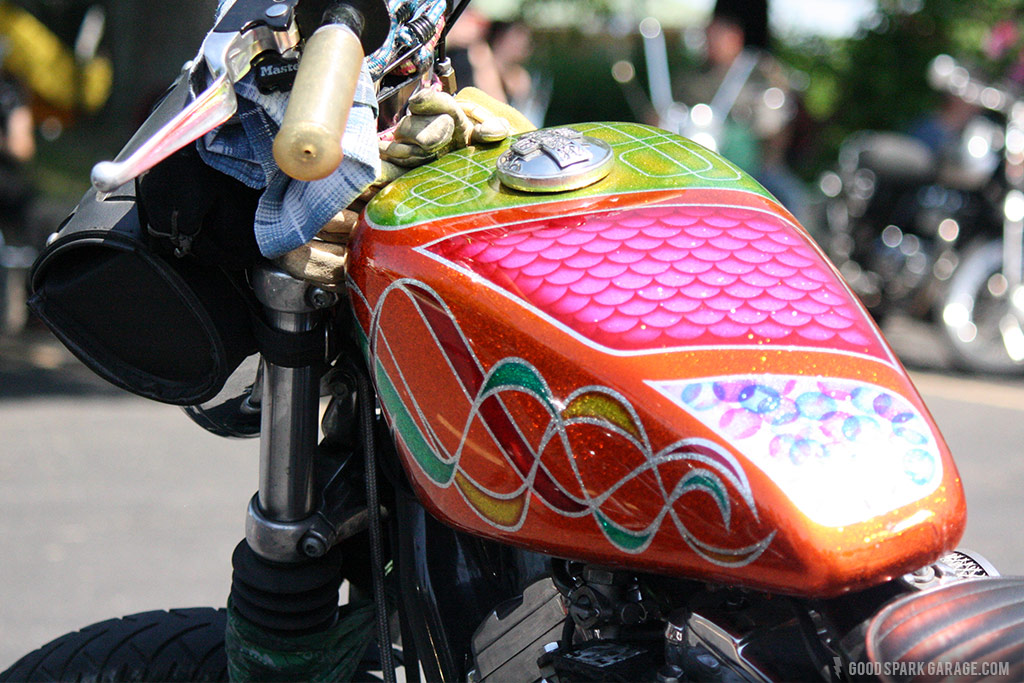 Rockers Reunion Indy Custom Painted Tank