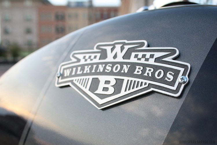 Wilkinson Bros Scrambler CL360 Gas Tank