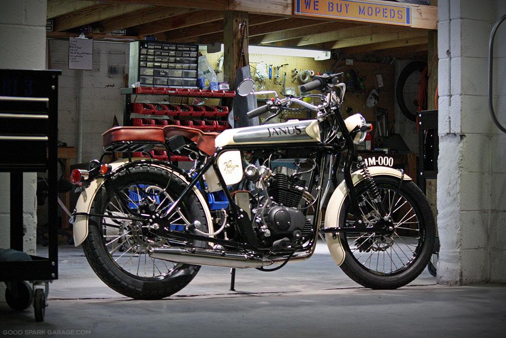 Janus Motorcycles Halcyon 250cc
