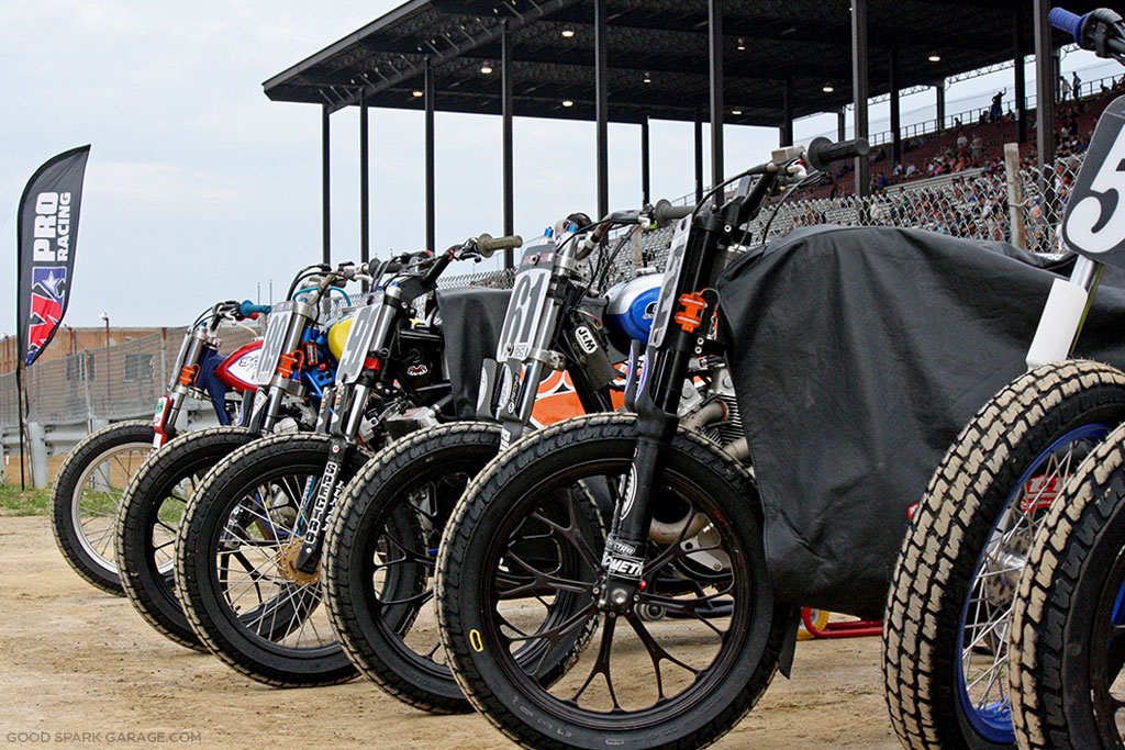Indy Mile 2015 Flat Track Bikes