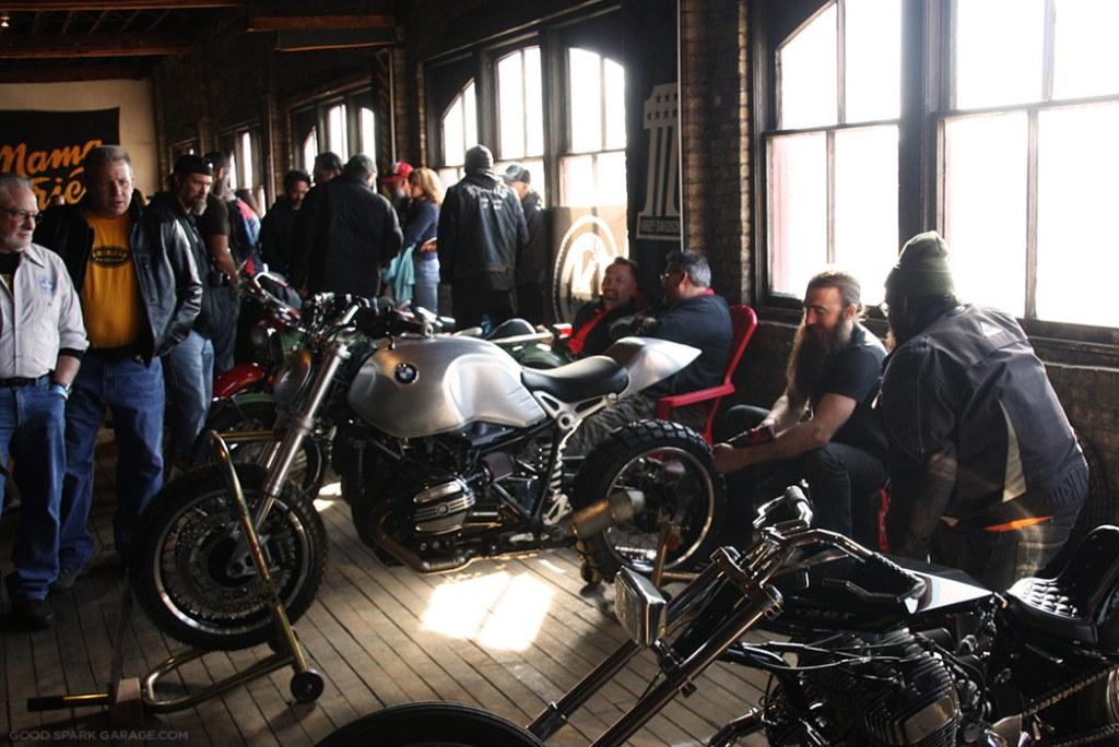 Mama Tried Motorcycle Show BMW R NineT