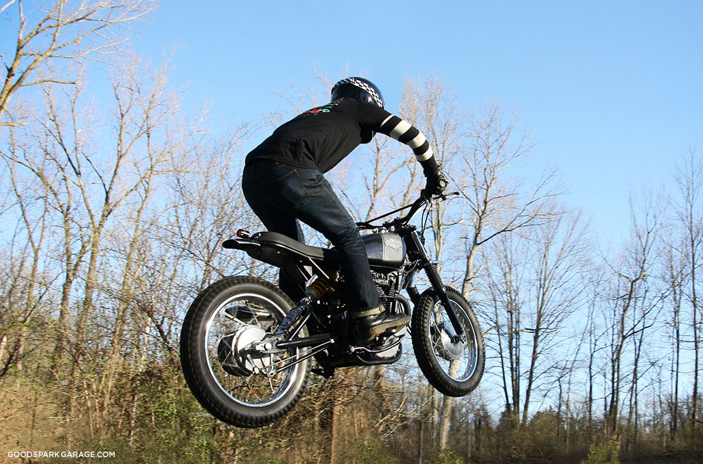 Airing out the Wilkinson Bros Scrambler CL360