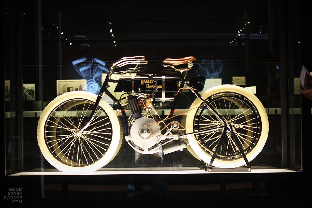 our visit to the harley-davidson museum - good spark garage