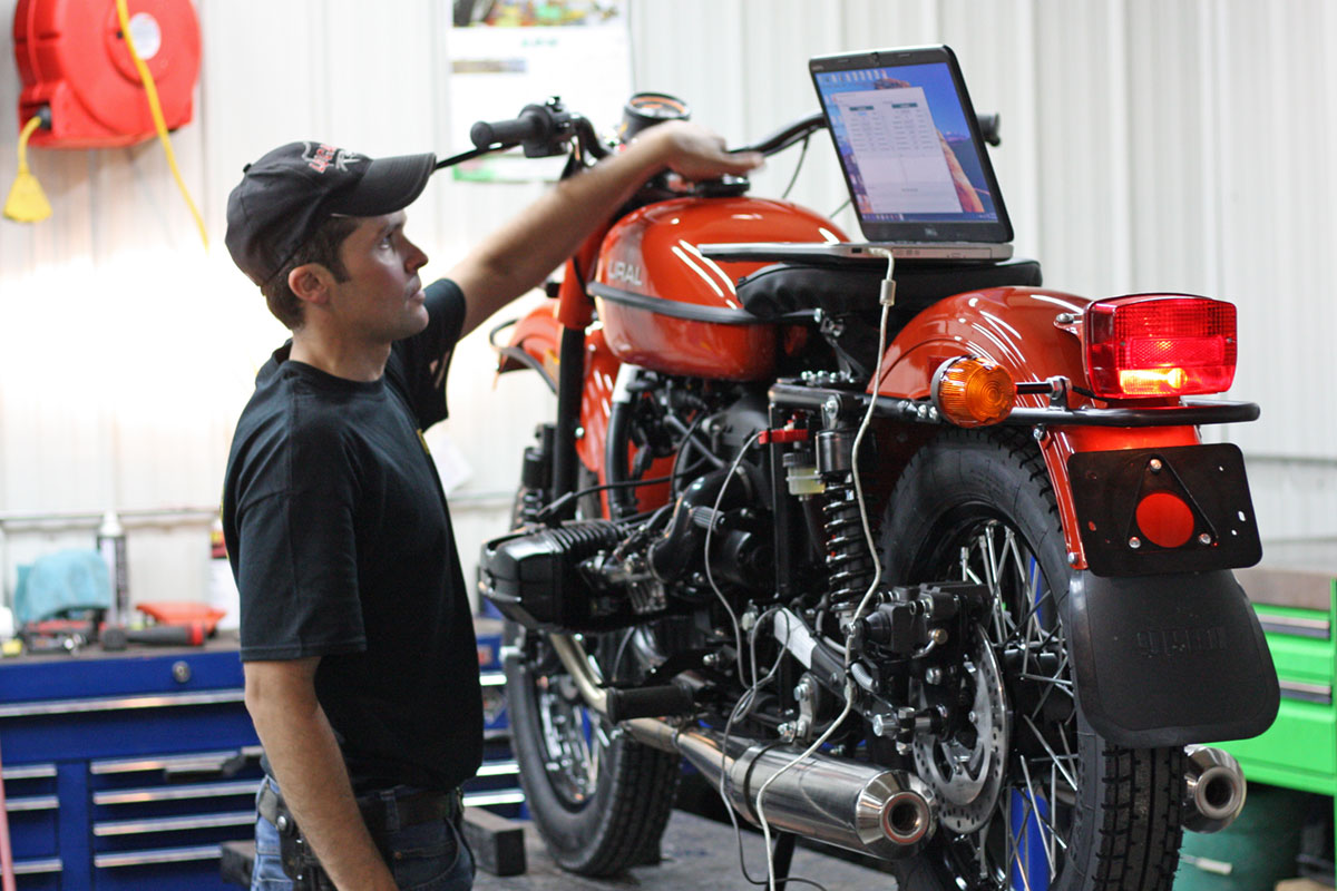 Setting up the Ural cT for Good Spark Garage