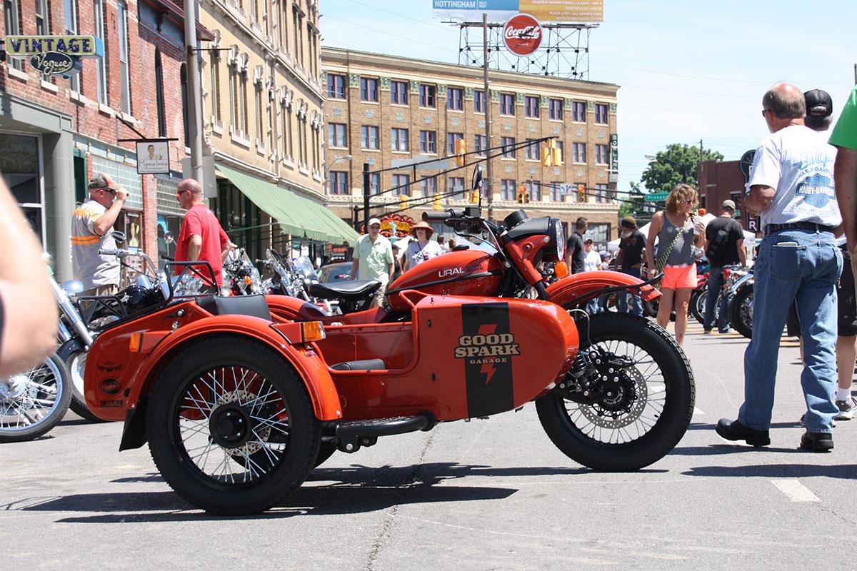 GSG Ural cT Motorcycle Sidecar