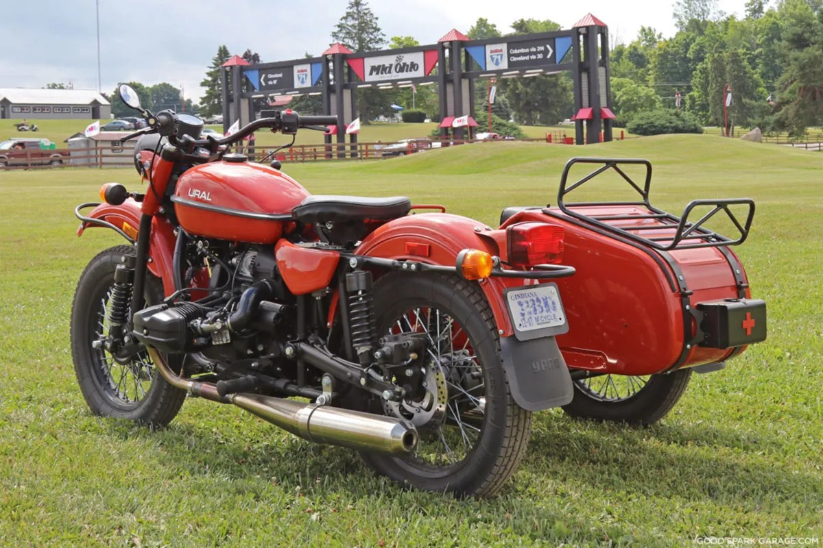 Ural Sidecar at Mid-Ohio VMD