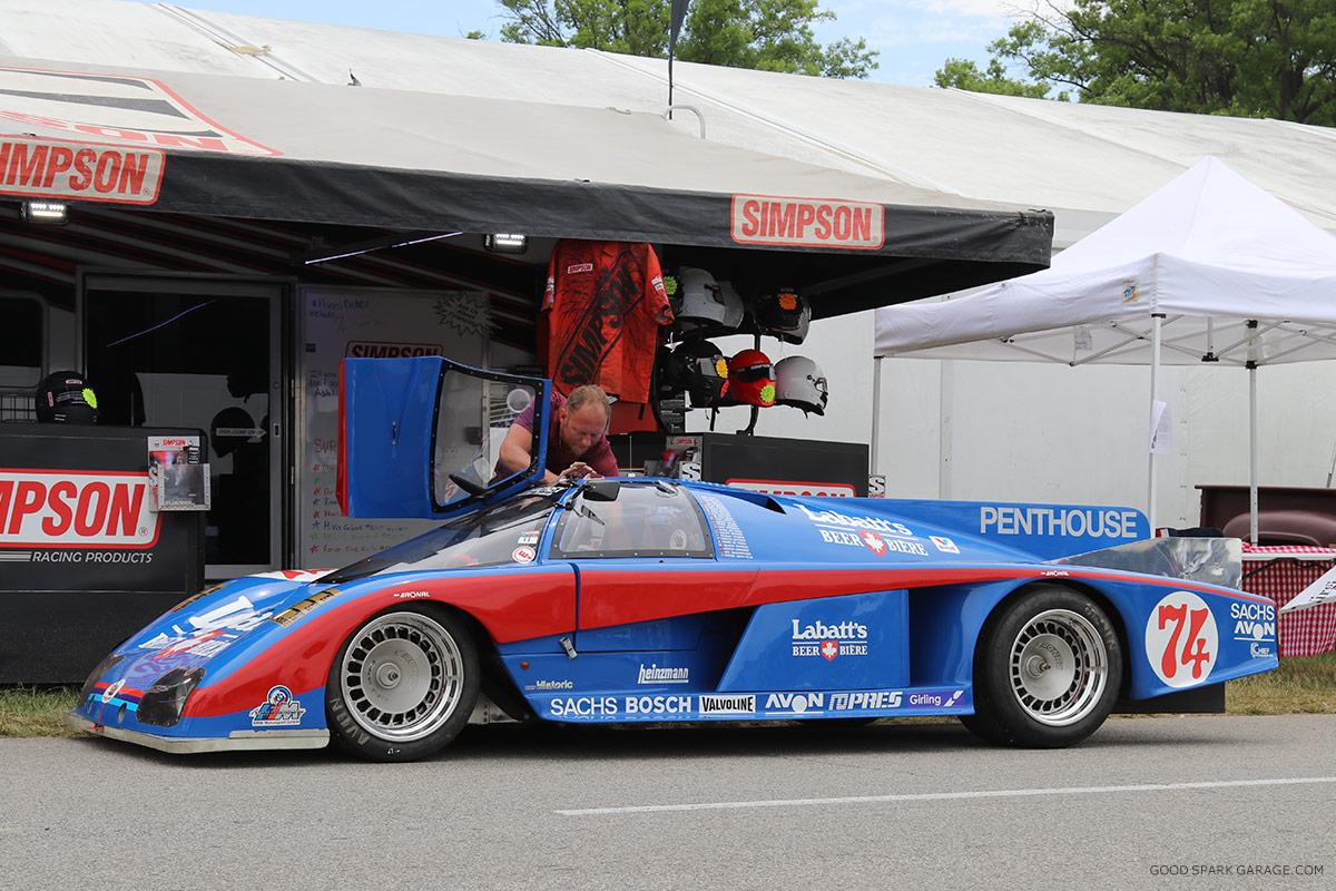 The Brickyard Vintage Racing Invitational - Good Spark Garage