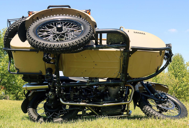 Ural GPR Exhaust
